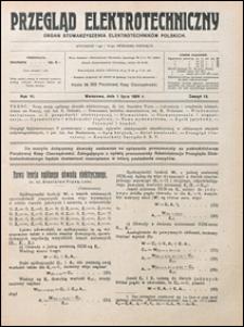 Przegląd Elektrotechniczny 1924 nr 13