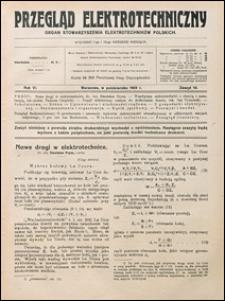 Przegląd Elektrotechniczny 1924 nr 19