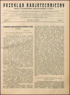 Przegląd Radjotechniczny 1924 nr 7
