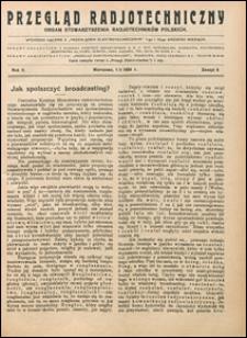 Przegląd Radjotechniczny 1924 nr 9