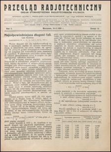 Przegląd Radjotechniczny 1924 nr 12