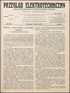 Przegląd Elektrotechniczny 1926 nr 6