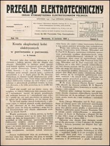 Przegląd Elektrotechniczny 1926 nr 8
