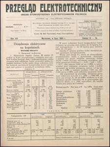 Przegląd Elektrotechniczny 1926 nr 13-14