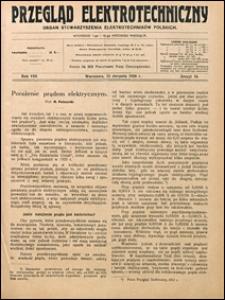 Przegląd Elektrotechniczny 1926 nr 16