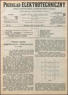 Przegląd Elektrotechniczny 1922 nr 2