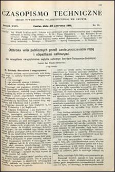 Czasopismo Techniczne 1911 nr 12