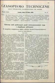 Czasopismo Techniczne 1911 nr 13