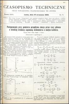 Czasopismo Techniczne 1908 nr 17