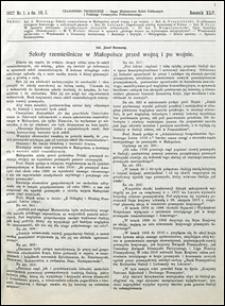 Czasopismo Techniczne 1927 nr 1