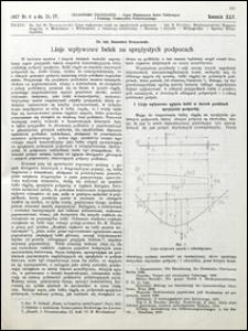 Czasopismo Techniczne 1927 nr 8