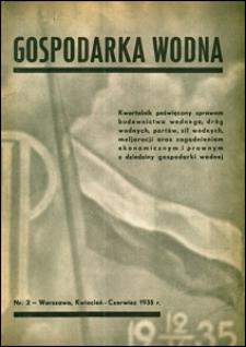 Gospodarka Wodna 1935 nr 2