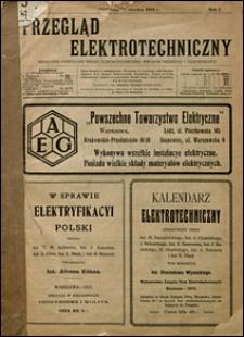 Przegląd Elektrotechniczny 1919 nr 2