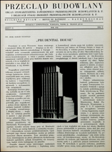 Przegląd Budowlany 1932 nr 10