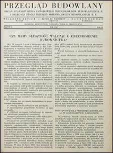 Przegląd Budowlany 1932 nr 11