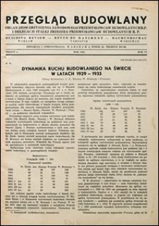 Przegląd Budowlany 1934 nr 4