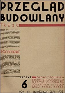 Przegląd Budowlany 1935 nr 6