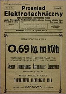 Przegląd Elektrotechniczny 1927 nr 2