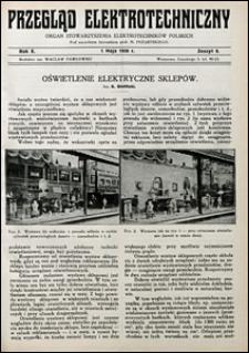 Przegląd Elektrotechniczny 1928 nr 9