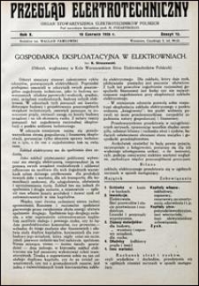 Przegląd Elektrotechniczny 1928 nr 12