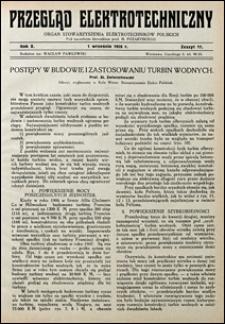 Przegląd Elektrotechniczny 1928 nr 17