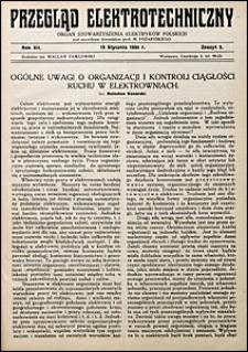Przegląd Elektrotechniczny 1930 nr 2