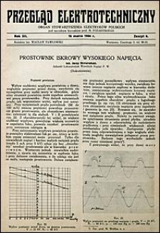 Przegląd Elektrotechniczny 1930 nr 6