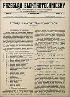 Przegląd Elektrotechniczny 1930 nr 8