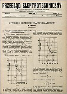 Przegląd Elektrotechniczny 1930 nr 9