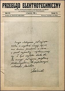 Przegląd Elektrotechniczny 1930 nr 12