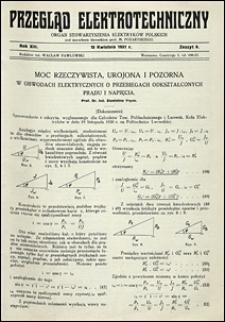 Przegląd Elektrotechniczny 1931 nr 8