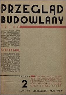 Przegląd Budowlany 1936 nr 2