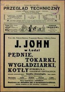 Przegląd Techniczny 1923 nr 27