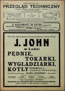 Przegląd Techniczny 1923 nr 30
