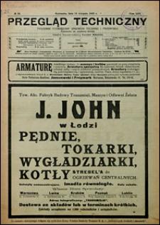 Przegląd Techniczny 1923 nr 33