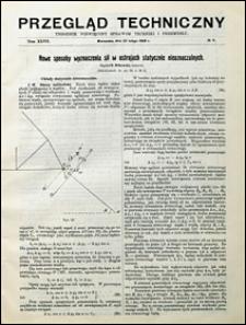 Przegląd Techniczny 1909 nr 8