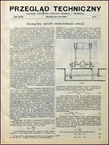 Przegląd Techniczny 1909 nr 27
