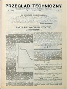 Przegląd Techniczny 1909 nr 31