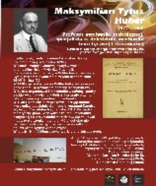 Maksymilian Tytus Huber (1872 - 1950)