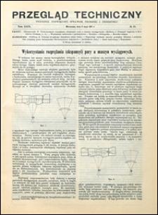 Przegląd Techniczny 1911 nr 19