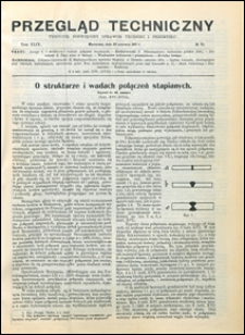 Przegląd Techniczny 1911 nr 25