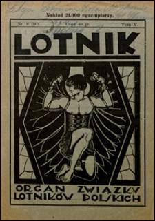 Lotnik 1927 t. V nr 8