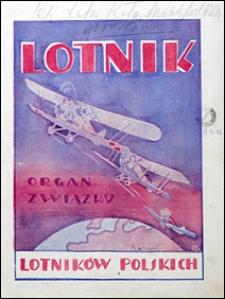 Lotnik 1927 t. VI nr 5-8