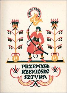Przemysł Rzemiosło Sztuka 1924 nr 1