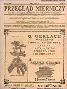 Przegląd Mierniczy 1926 nr 5
