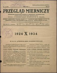 Przegląd Mierniczy 1934 nr 2