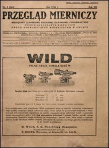 Przegląd Mierniczy 1936 nr 5