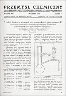 Przemysł Chemiczny 1930 nr 17
