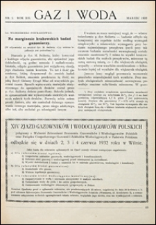 Gaz i Woda 1932 nr 3