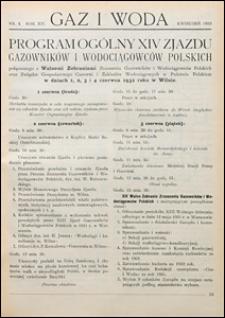 Gaz i Woda 1932 nr 4